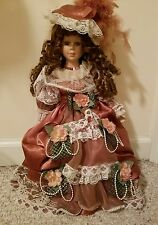 Victorian Old Fashioned Porcelain Doll