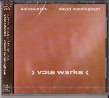 DAVID CUNNINGHAM Voiceworks CD+Insert+Obi+Postcard MINT! JAPAN! ~~ hayward nyman