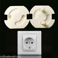5PCS Child Guard Against Electric Shock EU Safety Protector Socket Cover Cap
