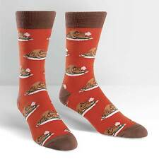 Sock It To Me Men's Crew Socks - Turkey Time