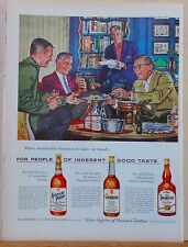 Vintage 1955 magazine ad for Old Thompson, Glenmore & Kentucky Tavern Whiskies