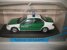 MINICHAMPS 1.43 FORD MONDEO 4 DOOR POLICE CAR POLIZEI AWESOME MODEL OLD STOCK