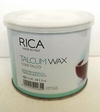 Rica wax hair removal to talc 400 ml for sensitive skin