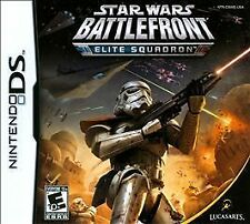 Star Wars Battlefront: Elite Squadron (Nintendo DS) NDS lite Complete+V.Good