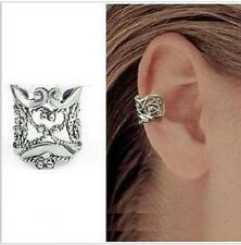 New Silver Ear Cuff Earrings Ear Crawler Climber Jewelry Gift Earcuff Ear Clamp