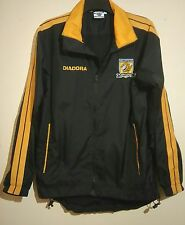 HULL CITY FOOTBALL CLUB COAT SIZE S SMALL MENS DIADORA EXCELLENT CONDITION
