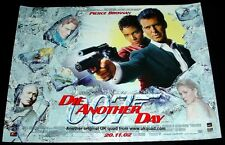 JAMES BOND POSTER DIE ANOTHER DAY STUDIO ISSUED ORIGINAL 2002 UK MINI QUAD MINT