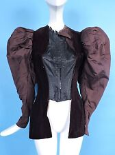 UNFINISHED VICTORIAN 19TH C MEGA MUTTON SLEEVE JACKET