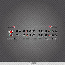 01128 De Rosa Bicycle Stickers - Decals - Transfers