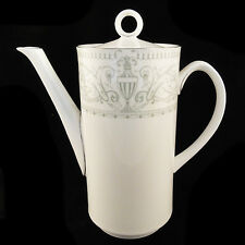"""ALLEGRO Royal Worcester COFFEE POT 9.25"""" tall NEW NEVER USED made in England"""