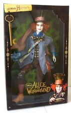 MAD HATTER BARBIE ALICE IN WONDERLAND COLLECTOR DOLL FIGURE TIM BURTON DISNEY