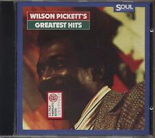 WILSON PICKETT - Greatest hits - CD 1987 NEAR MINT CONDITION