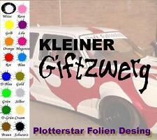 Kleiner Giftzwerg Hater Bitch JDM Sticker Aufkleber oem Power Shocker