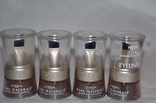 4x L'oreal Bare Naturale Mineral Eyeliner Cocoa, Bronze, Olive