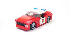 Lego Custom Red Fire Chief Interceptor City Town
