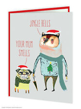 Brainbox Candy Wildstyle Christmas funny jingle bells your mum smells card xmas