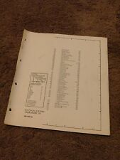 1985 Lincoln Mark VII Electrical Wiring Diagram Manual Sheets Schematic DEALER