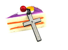 Good Quality Cross Charm Black 316L Stainless Steel Pendant Necklace C-3