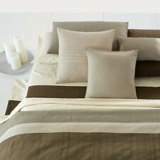 Calvin Klein Home Rio Matelassé Bed Blanket, Queen, Brunette NIP $225
