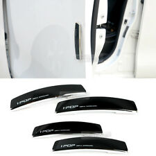 Simple Edge Side Door Guard Bumper Protector Black Color Accessory For Universal