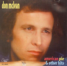 * DON MCLEAN - American Pie & Other Hits