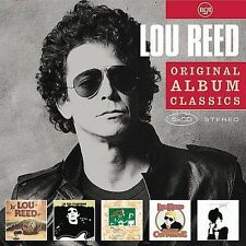LOU REED 5CD NEW ST/Transformer/Berlin/Sally Can't Dance/Coney Island Baby