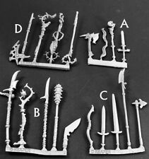 Fantasy Weapons Reaper Miniatures Dark Heaven Legends D&D RPG Dungeon Conversion
