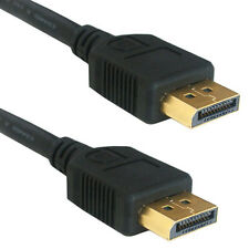 2m DisplayPort Male to Plug Video Cable -V1.2 GOLD Monitor Lead- Display Port DP