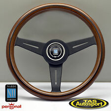 Nardi Steering Wheel ND CLASSIC WOOD Grain Black Spokes 340mm 5061.34.2000
