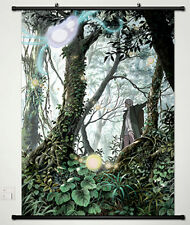 Anime Mushishi Ginko Manga Home Decor Japanese Poster Wall Scroll New 003