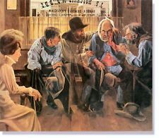 """*** """"MISERY LOVES COMPANY"""" LIMITED EDITION PRINT BY GERALD FARM****"""
