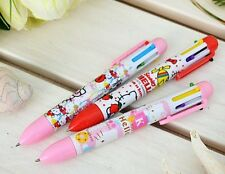 Sanrio Hello Kitty 6 Color Ball Point Pen(0.7mm) - 3 Piece