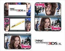 SKIN STICKER AUTOCOLLANT - NINTENDO NEW 3DS XL -  REF 202 CHICA VAMPIRO