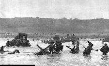 6x4 Gloss Photo ww86D Normandy D-Day Omaha Beach Capa