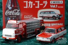 [TOMICA LIMITED VINTAGE 2 models Vol.1 1/64] TOYOPET CROWN VAN & TRUCK Coca-Cola