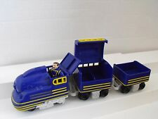 FISHER PRICE GEO TRAX BULLIES VICTOR BLUE PUSH TRAIN   / REMOTE    16