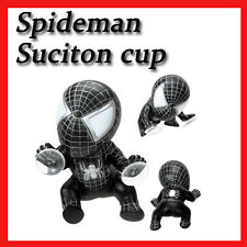 """Animation Character Spiderman Wall Hanging cute Toy Car Suction Cup 6"""" BLACK"""