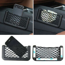 Universal Car Seat Side Back Storage Net Bag Phone Holder Pocket Organizer New