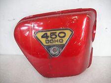 Original pages couvercle droit Cover right Honda CB 450k DOHC
