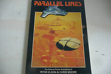 "PARALLEL LINES di P.ELSON/C.MOORE""THE SCIENCE OF FICTION ILLUSTRATIONS 1981-A1"