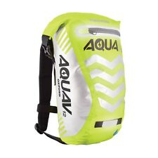 Oxford Aqua V12 Waterproof Backpack Rucksack Bike Cycle OL953 Fluorescent Yellow