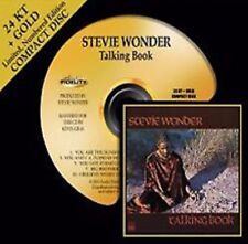Stevie Wonder Talking Book Audio Fidelity Gold CD Limited Edition Gold HDCD Disc