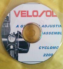 VELOSOLEX 2200. Manuale officina. Su CD