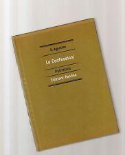 le confessioni - sant. agostino -   edizioni paoline copertina rigida verde-octo