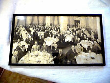 FRAMED REAL PHOTO USF ST. IGNATIUS LAW COLLEGE CLIFT HOTEL SAN FRANCISCO 1927