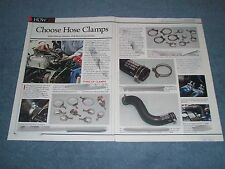 """Mustang Tech Info Article """"Choose Hose Clamps"""""""