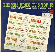 "NEAL HEFTI ""THEMES FROM TV'S TOP 12"" LP B.O. FILM 1962 PROMO  REPRISE R-6018"