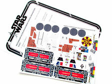 CUSTOM DIE CUT REPLACEMENT STICKERS for STAR WARS VINTAGE 1979 MILLENNIUM FALCON