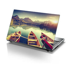 "TaylorHe 15.6"" Laptop Vinyl Skin Sticker Decal Beautiful Boating Scenery 2135"
