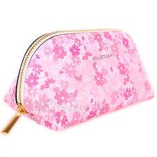 Jill Stuart Japan Floral Pink Beauty Makeup Pouch Cosmetic Bag - Limited Edition